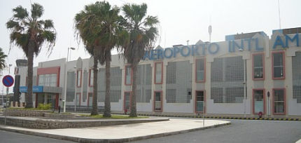 Aeroporto international Amil Cabral - Cabo Verde
